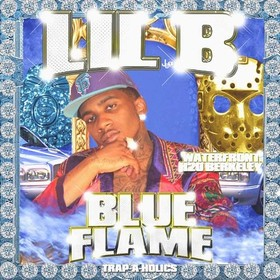 Blue Flame Lil B front cover