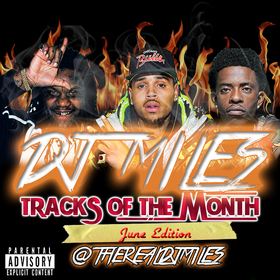 Tracks of the Month (June Edition) DJ Miles front cover