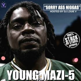 Sorry Ass Niggas Young Mazi 5 front cover