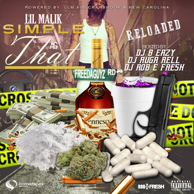 Simple As That (Reloaded) Lil Malik front cover