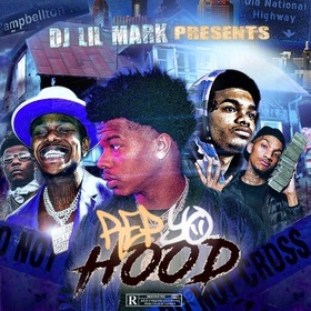 Rep Yo Hood Dj Lil Mark front cover
