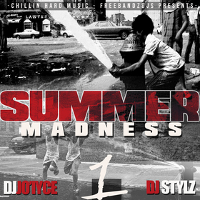 Summer Madness DJ Jo'iyce front cover