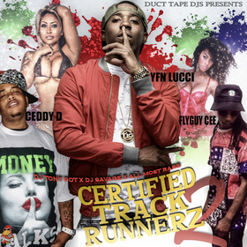 Certified Track Runnerz 2 Dj Tony Pot front cover