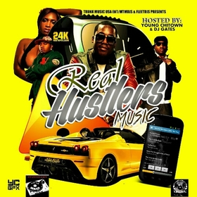 Real Hustlers Music Various Artists front cover
