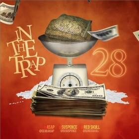 In The Trap 28 DJ Suspence front cover