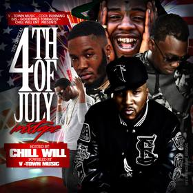 The Official 4th Of July Mixtape CHILL iGRIND WILL front cover