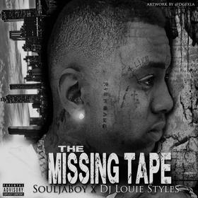 The Missing Tape Soulja Boy front cover