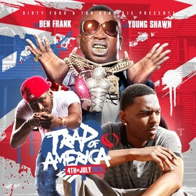 Trap Of America (4th Of July 2K15) DJ Ben Frank front cover