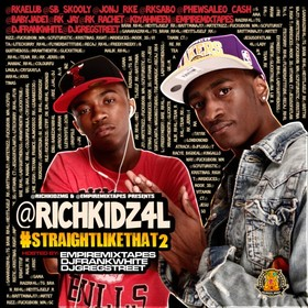 #StraightLikeThat2 Rich Kidz front cover