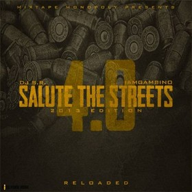 Salute The Streets 4.0 DJ S.R. front cover