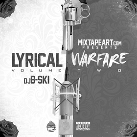 Lyrical Warfare 2 DJ B-Ski front cover