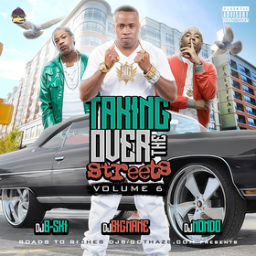 Taking Over The Streets 6 DJ B-Ski front cover