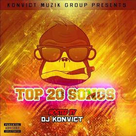 Top 20 Spinrilla hits Various Artists front cover