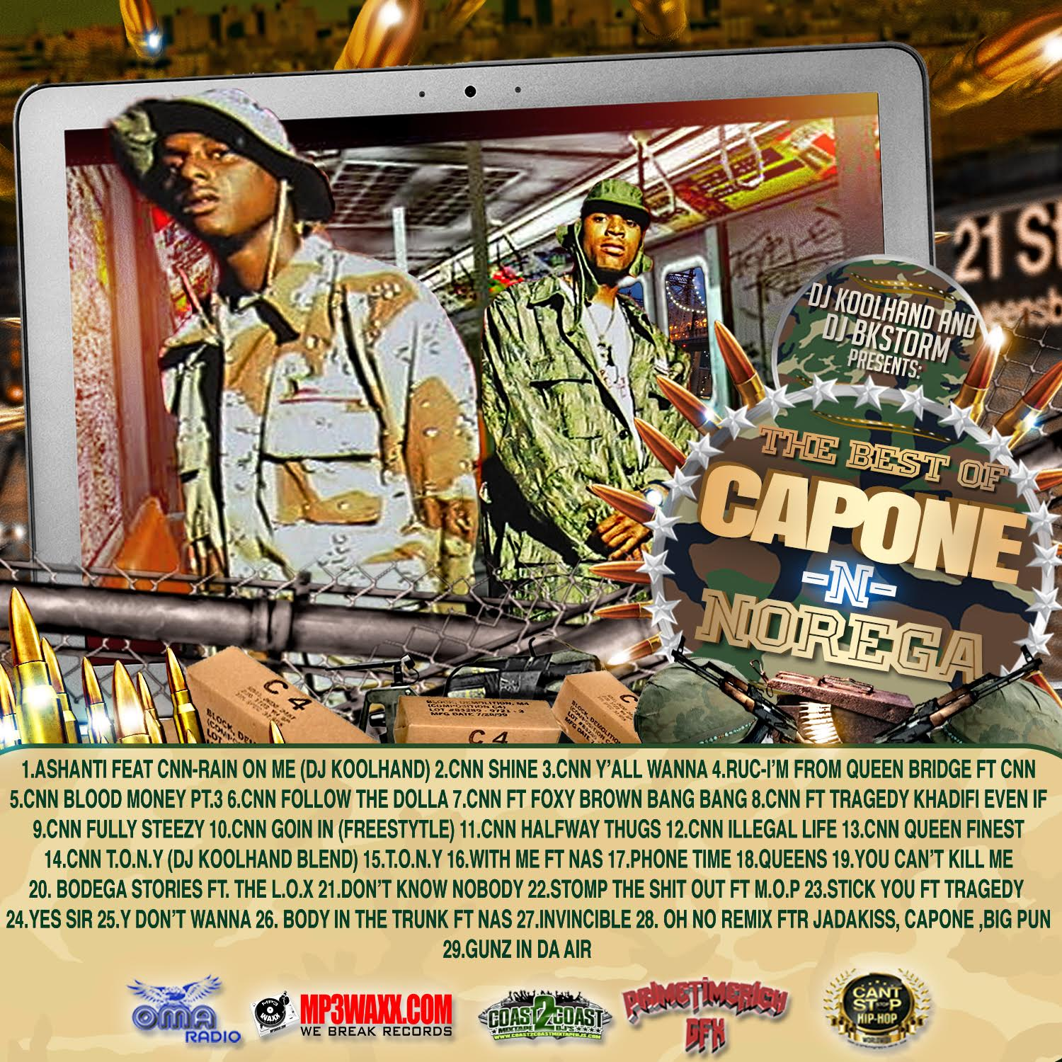 various artists best of capone n noreaga spinrilla