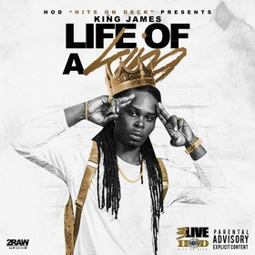 Life Of A King King James front cover