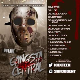 Gangsta Central Nuk85 front cover