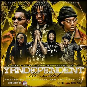 YRNDEPENDENT No Label DJ Official front cover