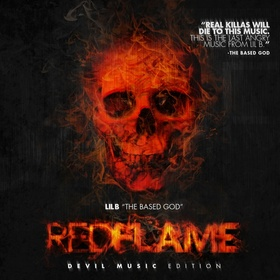 Red Flame (Devil Music Edition) Lil B front cover