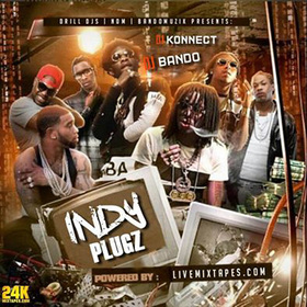 Indy Plugz DJ Konnect  front cover