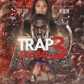 Trap Kombat 3: Meek Mill Vs. Drake 3rdy Baby front cover