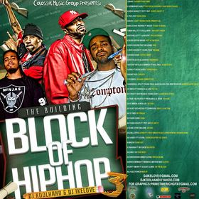 The Building Blocks Of Hip Hop 3 Colossal Music Group front cover