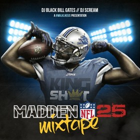 Madden 25 Mixtape Black Bill Gates front cover