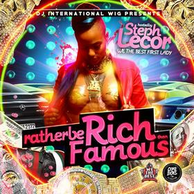 Rather Be Rich Than Famous International Wigg front cover