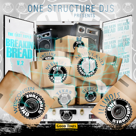 Breaking Bread Volume 2 DJ Stylz front cover