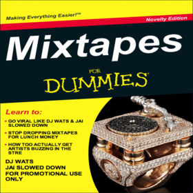 Mixtapes For Dummies DJ Wats front cover