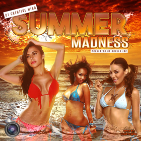 Summer Madness Dj Creative Mind front cover