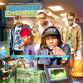 Youngest In Charge DJ Cortez front cover