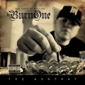 The Ashtray DJ Burn One front cover