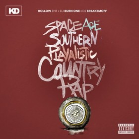 Space Age Southern Playalistic Country Rap KD front cover