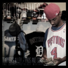 Trapper's Alley (Pros & Cons) Boldy James front cover