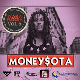 MoneySota 8 (Hosted By Waka Flocka) Mr. Peter Parker front cover
