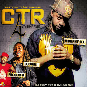 Certified Track Runnerz 4 Dj Tony Pot front cover