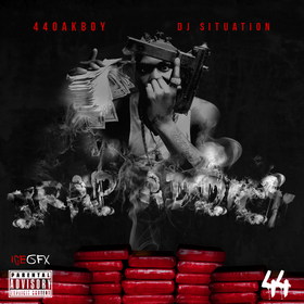 Trap Addict 44 OakBoy front cover