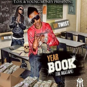 Year Book Lil Twist front cover