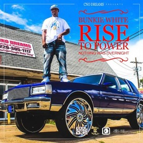 Rise To Power Bunkie White front cover