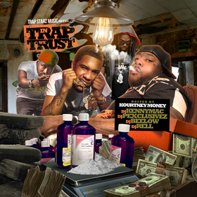 In Trap We Trust 3 (Hosted By Kourtney Money) DJ Kenny Mac   front cover