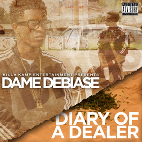 Diary Of A Dealer Dame Debiase front cover