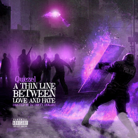 A Thin Line Between Love And Hate Quezel front cover