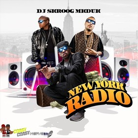 New York Radio Skroog Mkduk front cover