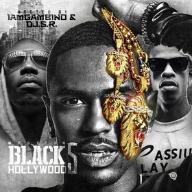 Made In Black Hollywood 5 DJ S.R. front cover