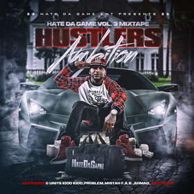 Hate Da Game 3 (Hustlers Ambition) Curt Digg front cover