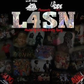 #L4SN 400 Mixtapes front cover