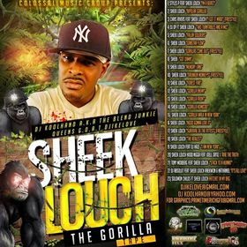 CMG PRESENTS Sheek Louch - The Gorilla Tape Colossal Music Group front cover