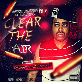 Clear The Air MrSIX4 front cover