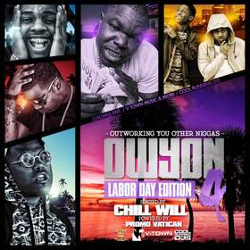 OWYON 4: Labor Day Edition CHILL iGRIND WILL front cover