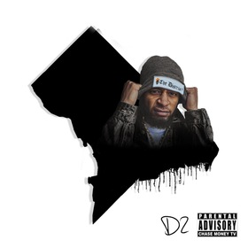 """The District 2 """"Black Print"""" DJ SaySay front cover"""